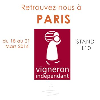 Salon des vignerons ind pendants de paris ch teau canadel - Invitation salon des vignerons independants ...